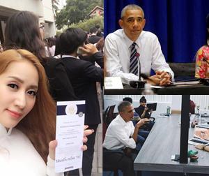 Tin sao Việt mới ngày 25/5: Khánh Thi, Mai Khôi, Phở Đặc biệt được gặp Tổng thổng Mỹ