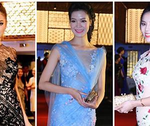 Dàn mỹ nhân Việt 'thi nhau' diện váy xuyên thấu trên thảm đỏ