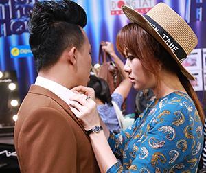 Hari Won chủ động làm 'vợ hiền', chăm sóc Trấn Thành như 'em bé'
