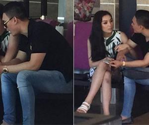 Lộ ảnh Hoa hậu Kỳ Duyên thân mật với bạn trai đại gia