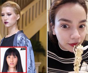 Tin sao Việt mới ngày 30/5: Hồng Xuân Next top lộ mặt 'dao kéo', Hà Hồ trợn mắt ăn mì tôm