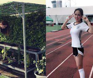 Tin sao Việt mới ngày 31/5: Ngọc Trinh chăm chút cho vườn rau, Mai Phương Thúy chạy thể dục buổi sáng