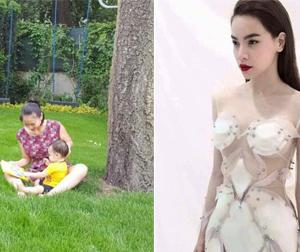 Tin sao Việt mới ngày 1/6: Thu Minh dạy con học, Hà Hồ gợi cảm với váy xuyên thấu