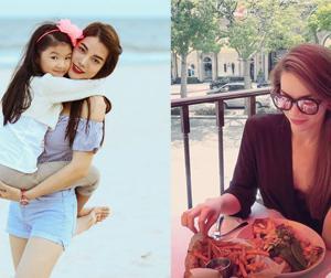 Tin sao Việt mới ngày 1/6: Trương Ngọc Ánh hạnh phúc bên con, Hà Hồ ăn trưa ở nơi yêu thích nhất