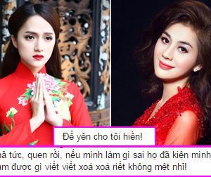 Hương Giang Idol: 'Hãy để yên cho tôi hiền'