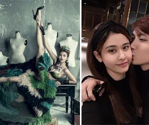 Tin sao Việt mới ngày 25/6: Thanh Hằng tạo dáng lạ, Tim tình tứ hôn vợ