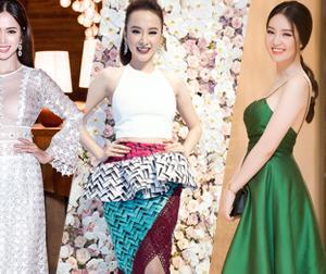 Ai xứng danh 'Nữ hoàng thảm đỏ' showbiz Việt tuần qua? (P6)