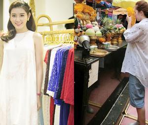 Tin sao Việt mới ngày 26/6: Huyền My dự sự kiện sau khi về nước, Quỳnh Nga mặc quần ngố đi lễ chùa