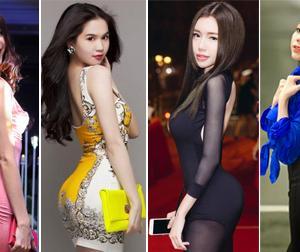 Những màn khoe vòng 3 'ngớ người' của mỹ nhân Việt