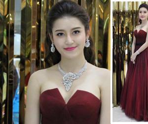 Á hậu Huyền My đẹp như nữ thần được truyền thông Myanmar săn đón