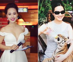 Tin sao Việt mới ngày 24/7: MC Phương Thảo khóc ngất vì máy bay gặp sự cố, Giáng My gan lì cho hổ uống sữa