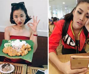 Tin sao Việt mới ngày 29/7: Maya xinh đẹp đi ăn bún đậu, biểu cảm của Lan Khuê khi chờ lên máy bay