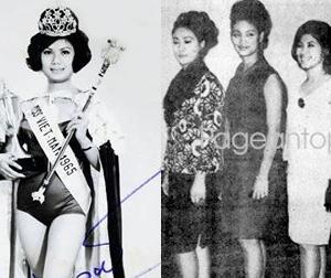 Người đẹp Việt đầu tiên đi thi quốc tế là ai?