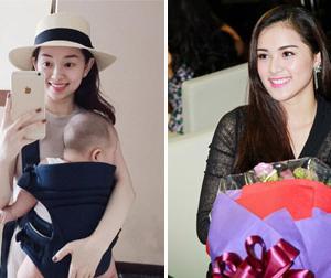 Tin sao Việt mới ngày 24/8: Ly Kute vui vẻ đưa con đi chơi, lộ ảnh mũm mĩm của Hạ Vi