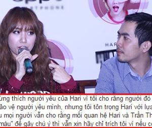 Quản lý cũ của Hari Won: 'Trấn Thành không biết cách bảo vệ người yêu'