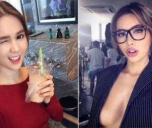 Tin sao Việt mới ngày 28/8: Minh Tú khoe vòng một táo bạo, Ngọc Trinh nhí nhảnh khi uống trà sữa
