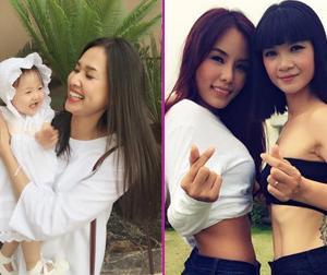 Tin sao Việt mới ngày 30/8: Bất ngờ với vòng eo mỏng dính của bà mẹ 3 con Hạ Vy, Dương Mỹ Linh khát khao có con gái