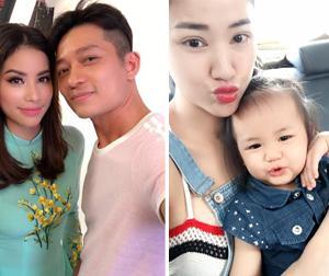 Tin sao Việt mới ngày 31/8: Phạm Hương duyên dáng trong tà áo dài, mẹ con Maya chu miệng đáng yêu