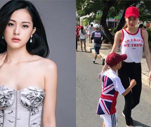 Hạ Vi nói gì sau khi Cường Đô la đi chụp ảnh cho Hồ Ngọc Hà và con trai?