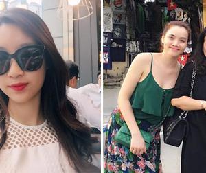 Tin sao Việt mới 26/9: HH Mỹ Linh đi du lịch Hàn Quốc, Trang Nhung thân thiết với mẹ chồng