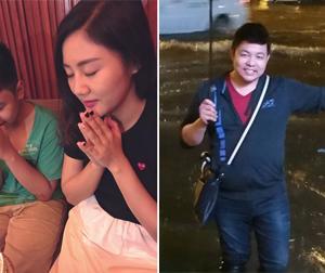 Tin sao Việt mới 27/9: Văn Mai Hương đón sinh nhật cùng em trai, Quang Lê chụp ảnh trên đường ngập nước