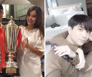 Tin sao Việt mới 30/9: Kỳ Hân mặc váy rộng trước tin đồn mang bầu, vợ chồng Tim tình tứ bên nhau