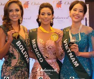 Nam Em bất ngờ giành tiếp Huy chương bạc tại Miss Earth 2016
