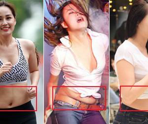 Đừng bị photoshop 'lừa tình' nữa, đây mới là vòng eo thật sự của mỹ nhân Việt