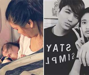 Tin sao Việt mới 25/10: Phương Vy idol khoe cho con bú trên máy bay, vợ chồng Tim tình tứ bên nhau
