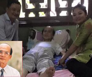 Nghệ sĩ Phạm Bằng giấu bệnh, đã nằm viện được 4 tháng, sụt gần 10 kg