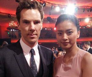 Ngô Thanh Vân khiến fan ghen tỵ khi chụp ảnh cùng tài tử của 'Doctor Strange'
