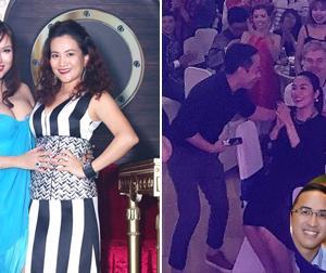 Tin sao Việt mới 17/1: Phi Thanh Vân khoe vòng một táo bạo, chồng Hà Tăng khoe ảnh vợ lộ bụng bầu