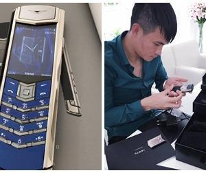 Thủy Tiên chi tiền 'khủng' mua tặng chồng điện thoại Vertu