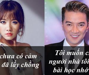 Phát ngôn 'giật tanh tách' của sao Việt tuần qua (P134)