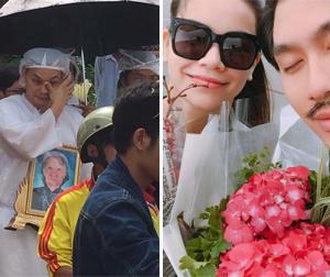 Tin sao Việt mới 19/1: NSƯT Kim Tiểu Long khóc khi tiễn đưa mẹ, Hà Hồ thân thiết bên Lý Quí Khánh