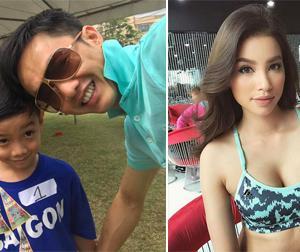 Tin sao Việt mới 19/1: Cường Đô la đi chơi cùng con, Phạm Hương khoe vòng một gợi cảm