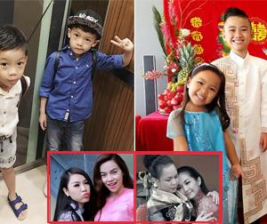 Nhờ duyên từ bố mẹ mà các nhóc tỳ nhà sao Việt chơi thân với nhau từ bé