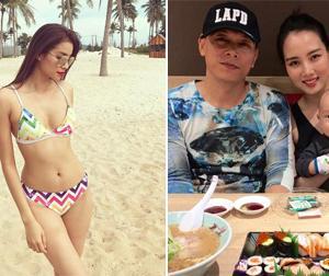 Tin sao Việt mới 24/2: Phạm Hương gợi cảm đến mê mẩn trên bãi biển, vợ chồng Ngô Quang Hải cùng nhau đi ăn
