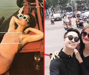 Tin sao Việt mới 1/3: Uyên Linh mặc váy lưới xuyên thấu lộ vòng một, Tuyết Lan đưa bạn trai doanh nhân về Việt Nam