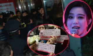 Fans bức xúc vì mua vé vẫn không được gặp Phạm Băng Băng