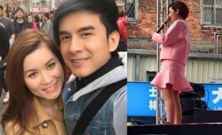 Vợ chồng Đan Trường khoe được xem Selina biểu diễn ở Đài Loan