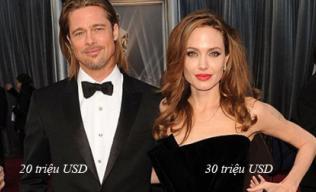 Những mỹ nhân Hollywood kiếm tiền 'vượt mặt' chồng