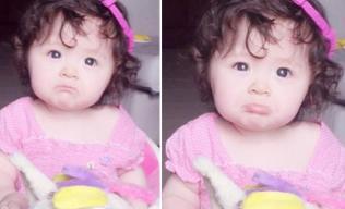 Con gái Elly Trần mếu máo vẫn cực dễ thương