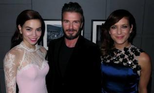 Beckham hào hứng chia sẻ ảnh 'tái ngộ' Hà Hồ