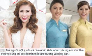 Hồng Quế khen đồng phục Vietnam Airlines, chê người khác 'có con mắt tầm thường'