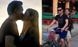 Việt Anh 'Chạy án' hôn bạn gái nồng thắm dưới ánh hoàng hôn