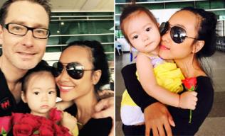 Đoan Trang khoe ảnh gia đình hạnh phúc ngọt ngào