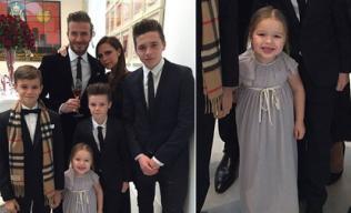 Gia đình Beckham tưng bừng kỷ niệm 16 năm ngày cưới