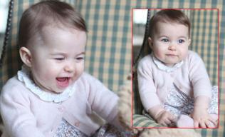 Hoàng gia Anh công bố hình ảnh mới nhất của tiểu Công chúa Charlotte