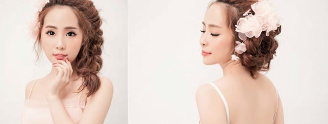 'Cá sấu chúa' Quỳnh Nga đẹp ngỡ ngàng với đầm hồng pastel